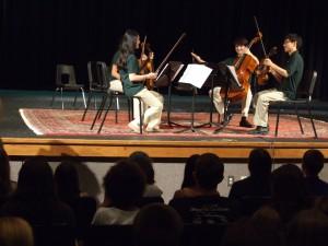 Ravel Quartet at Upbeat!