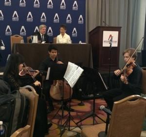 Alum trio in Washington D.C.