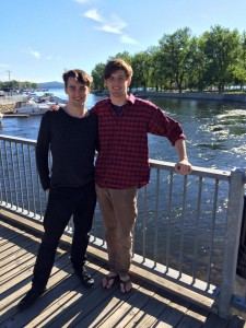 Wick Simmons & Sam Viguerie at Centre D'Arts Orford in Quebec 6-15