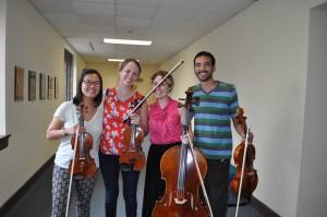 the Alumni Quartet