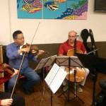 Franklin Pond Quartet at Crossroads