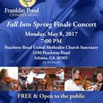 <i>Fall Into Spring</i> Finale Concert Coming Soon