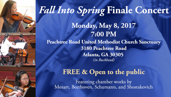 Fall Into Spring Finale Concert