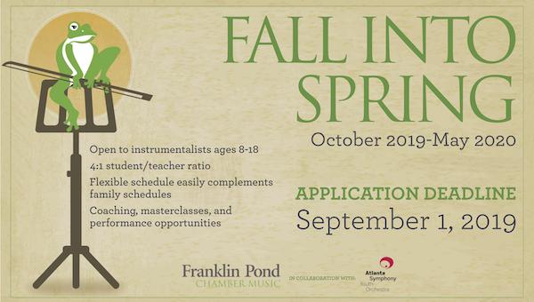 Fall Into Spring Program 1