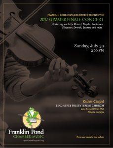 2017 Summer Finale Concert