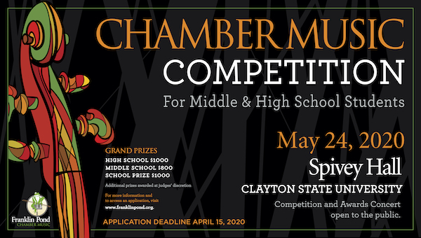 2020 Chamber Music Competition